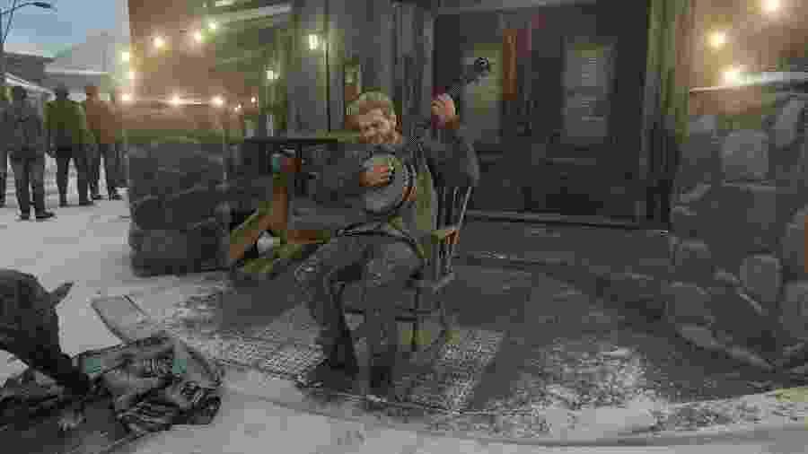 Gustavo Santaolalla, o compositor do jogo, aparece em The Last of Us Part II - Reprodução