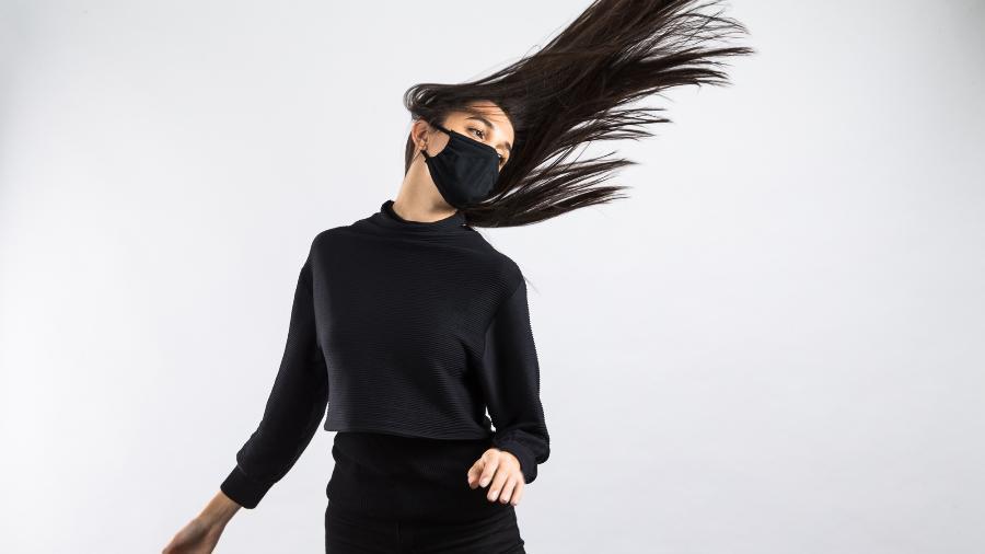 Kit Hope Fashion promete eficácia e proteção total contra o coronavírus a partir do tecido; metade do lucro da ação será destinada para o G10 Favelas - Fabrizio Motta/BRIZ Midia