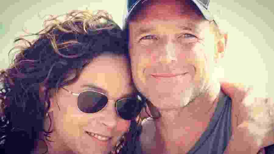 Jennifer Gray e Clark Gregg: separados após 19 anos de casamento - Reprodução/Instagram