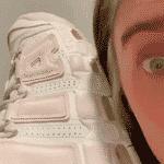 Billie Eilish mostra o seu Nike Air More Uptempo, que confundiu os fãs - Reprodução/Instagram