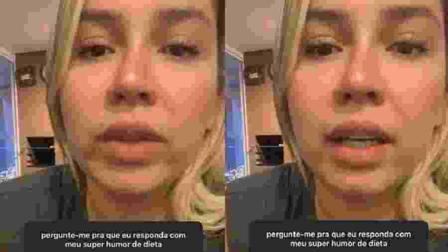 Marília Mendonça respondeu perguntas dos fãs nas redes sociais - Reprodução/Instagram