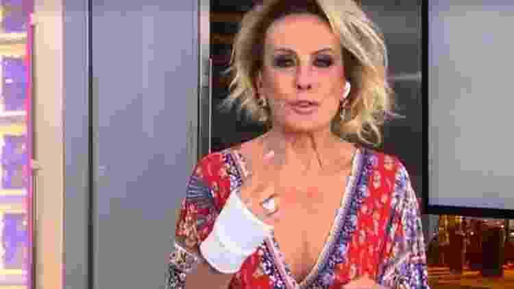 Ana Maria - Reprodução/Globo - Reprodução/Globo