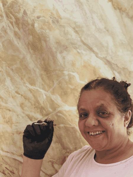 Pintora Sueli - Arquivo pessoal - Arquivo pessoal