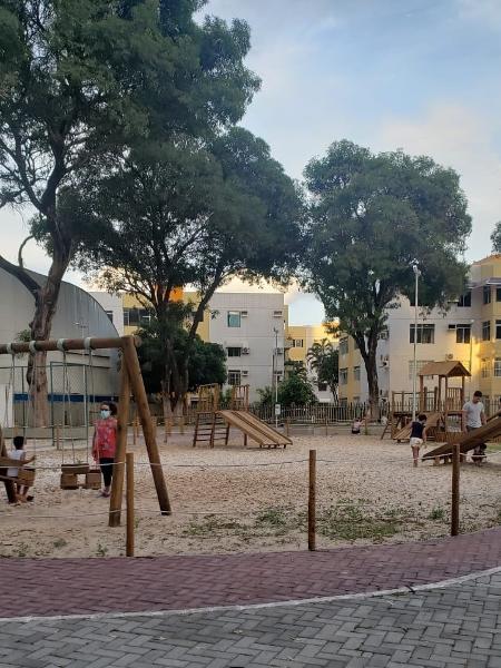 Praça Dandara Palmares - Arquivo pessoal