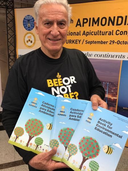 Prof. Dr. Lionel Segui Gonçalves fundador da ONG Bee or not to be - Divulgação/UFERSA