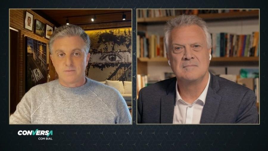 Entrevistado por Bial, Huck revela voto em 2018 - Vídeo/Reprodução