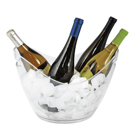 balde de gelo para garrafas whisky vinho champagne true - Amazon - Amazon
