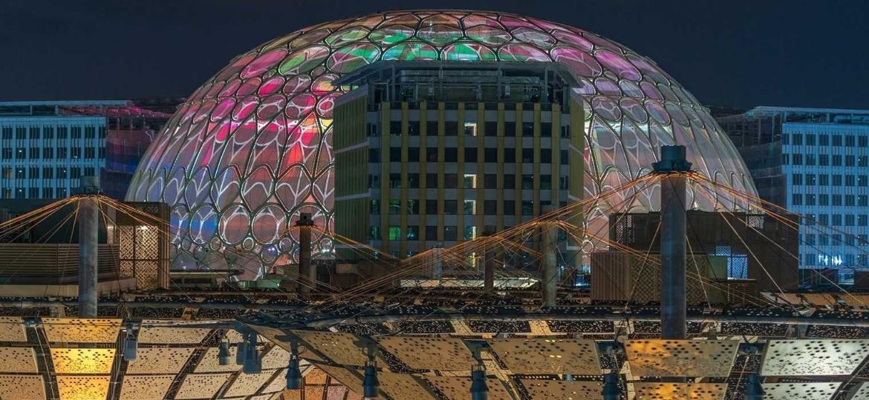 A Expo Dubai deve ocupar o calendário da cidade até 31 de março de 2022 com programação diária diversa - Divulgação