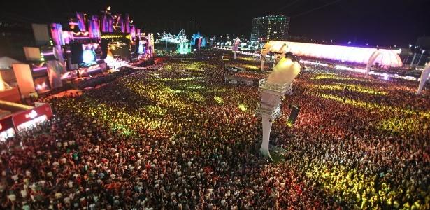 Eventos como o Rock in Rio poderão limitar a meia-entrada a 40% dos ingressos à venda - Marco Antonio Teixeira/UOL