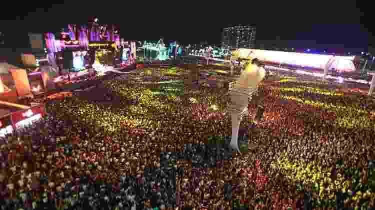 26.set.2015 - Público lota o palco Mundo para o show de Rihanna no Rock in Rio 2015 - Marco Antonio Teixeira/UOL - Marco Antonio Teixeira/UOL