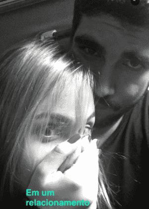 Caio Castro postou um video no Snapchat com Giovanna Venditto  - Reprodução/Snapchat