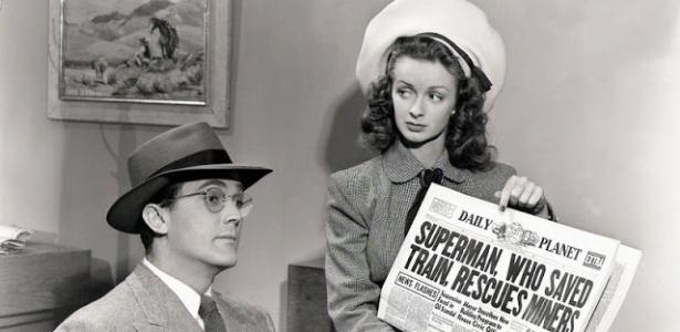 Noel Neill, que interpretou pela primeira vez a Lois Lane, morreu aos 95 anos - Divulgação