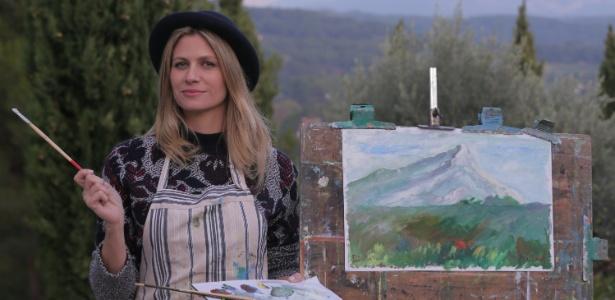 Didi Wagner visitou o ateliê do pintor Paul Cézanne, na França - Vinicius Colé/Divulgação/Multishow