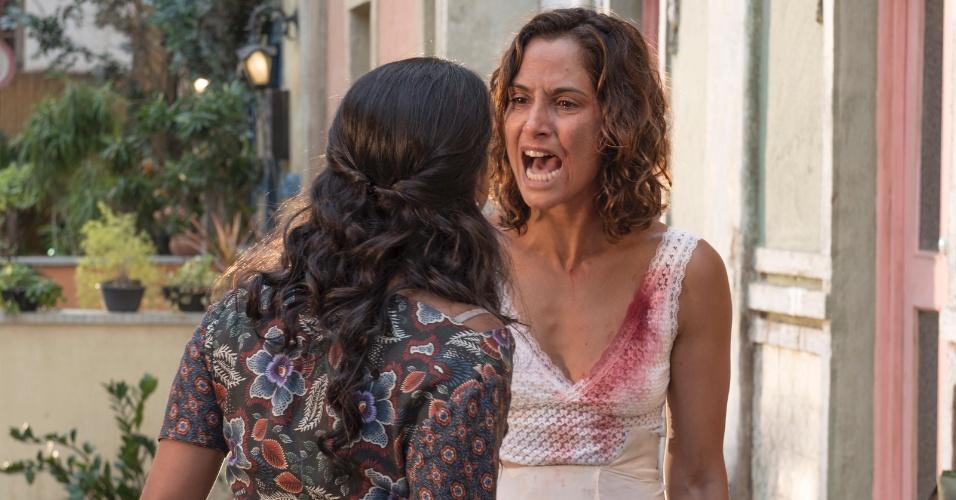 Camila Pitanga e Lucy Alves preparam o acerto de contas de Tereza e Luzia em