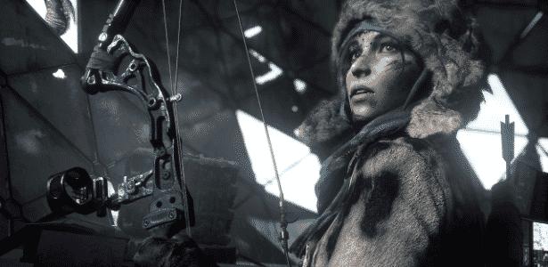 """Dez anos atrás, a Naughty Dog se inspirou em """"Tomb Raider"""" para criar """"Uncharted""""... que acabou inspirando a reformulação de """"Tomb Raider"""" e o surgimento da carismática (e azarada) Lara Croft dos games atuais. - Divulgação"""