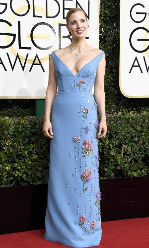 Globo de Ouro 2017: Jessica Chastain