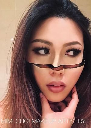 Mimi Choi mostra tudo que é possível fazer com maquiagem
