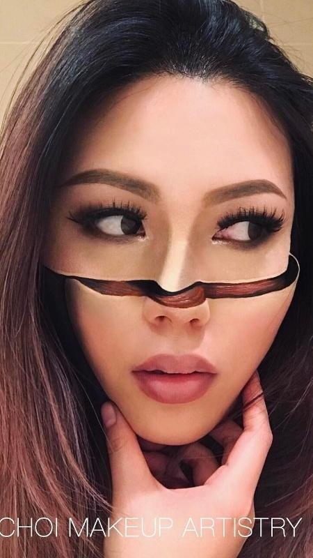 Mimi Choi mostra tudo que é possível fazer com maquiagem - Reprodução/Instagram