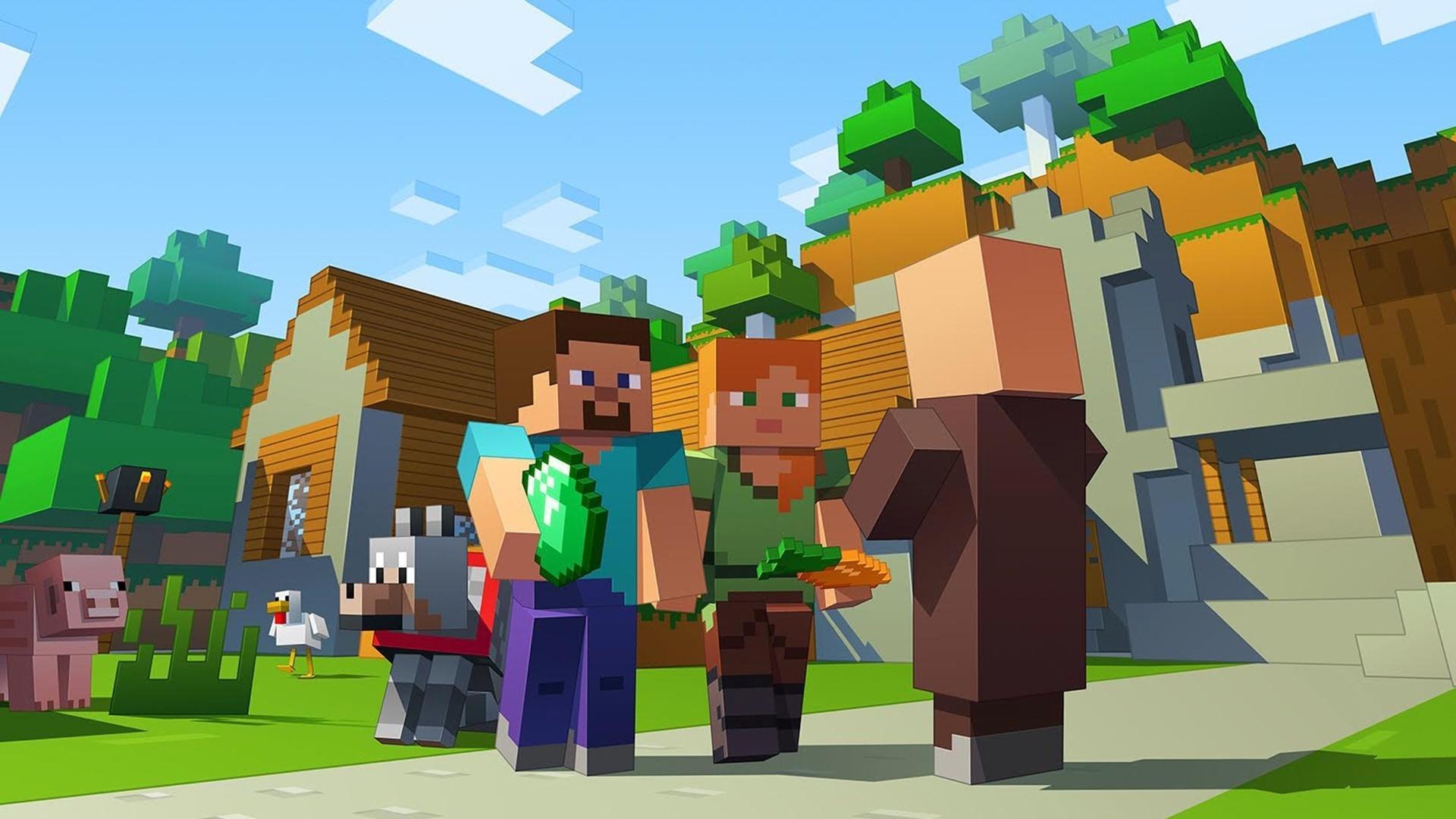 """Agora todos podem jogar """"Minecraft"""" juntos no Xbox, celular e PC"""