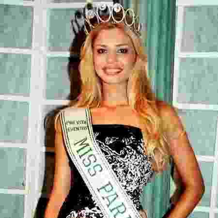 Grazi Massafera Miss Paraná - Divulgação - Divulgação