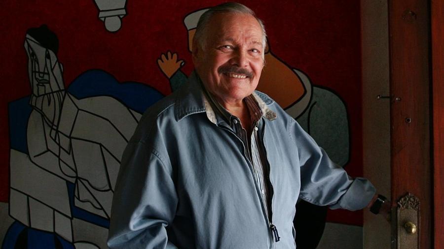 O artista mexicano José Luis Cuevas, - Reprodução