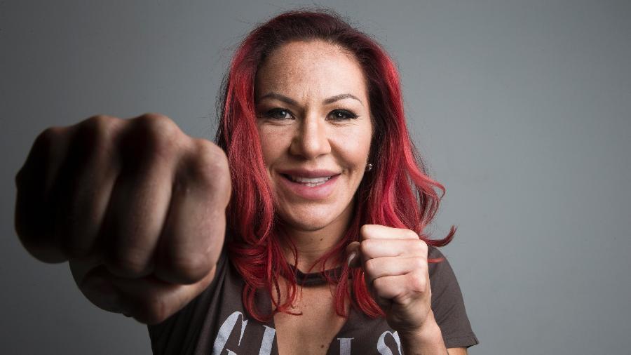 A lutadora Cris Cyborg, 17 vezes campeã e atual dona do cinturão - Lucas Lima/UOL