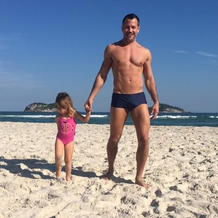 Malvino Salvador com a filha Ayra - Reprodução/Instagram