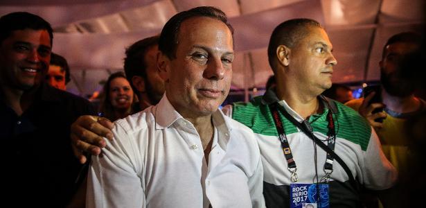 O prefeito de São Paulo, João Doria (PSDB), que apoia volta da inspeção veicular