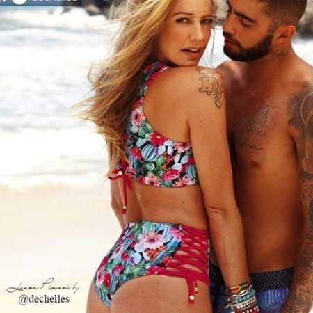 Luana Piovani posta foto sexy e se declara para o marido, Pedro Scooby - Reprodução/Instagram