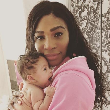 Serena e a filha, Alexis  - Reprodução @serenawilliams