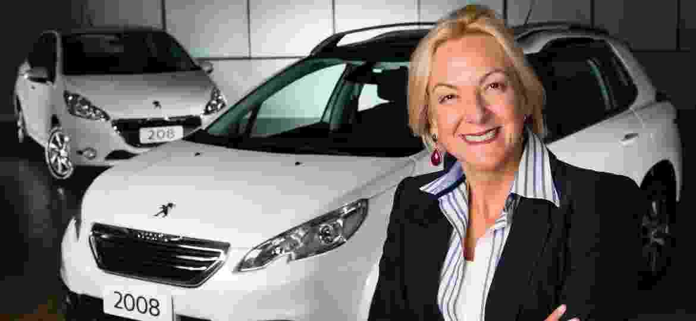 Ana Theresa Borsari foi a primeira mulher a assumir uma operação da Peugeot no mundo - Divulgação