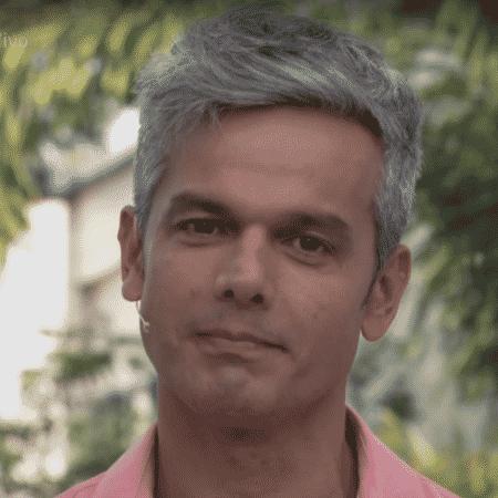 Otaviano Costa estava emocionado ao falar da homenagem à Marielle e Anderson - Reprodução/Globo