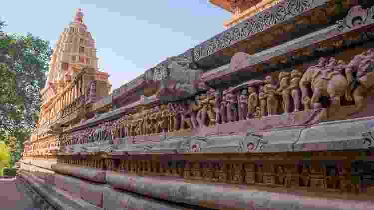Muitas das imagens dos templos de Khajuraho não fazem alusão a sexo - Getty Images/iStockphoto - Getty Images/iStockphoto