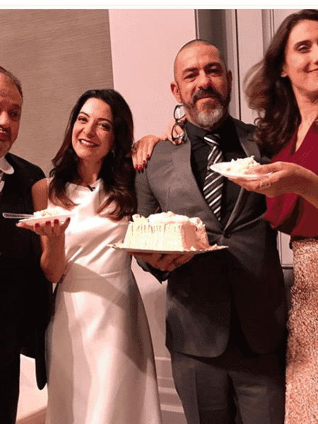 Erick Jacquin,  Ana Paula Padrão, Henrique Fogaça  e Paola Carosella - Reprodução/Instagram