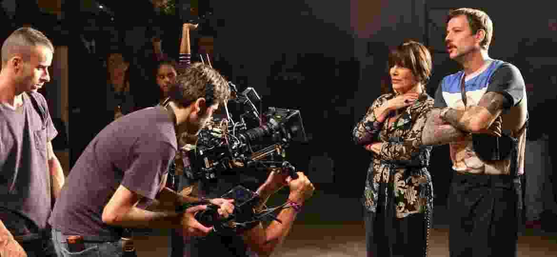 """Glória Pires grava cena de """"O Outro Lado do Paraíso"""" durante a SPFW - Deividi Correa/AgNews"""