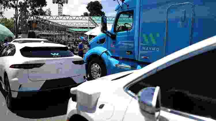 Carros autônomos Google Waymo - Justin Sullivan/AFP - Justin Sullivan/AFP