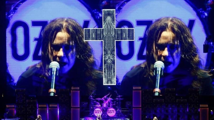 """Ozzy Osbourne se apresenta no Allianz Parque, em São Paulo, em show de """"despedida"""" - Reprodução/Fabricio JR - Fotografia"""