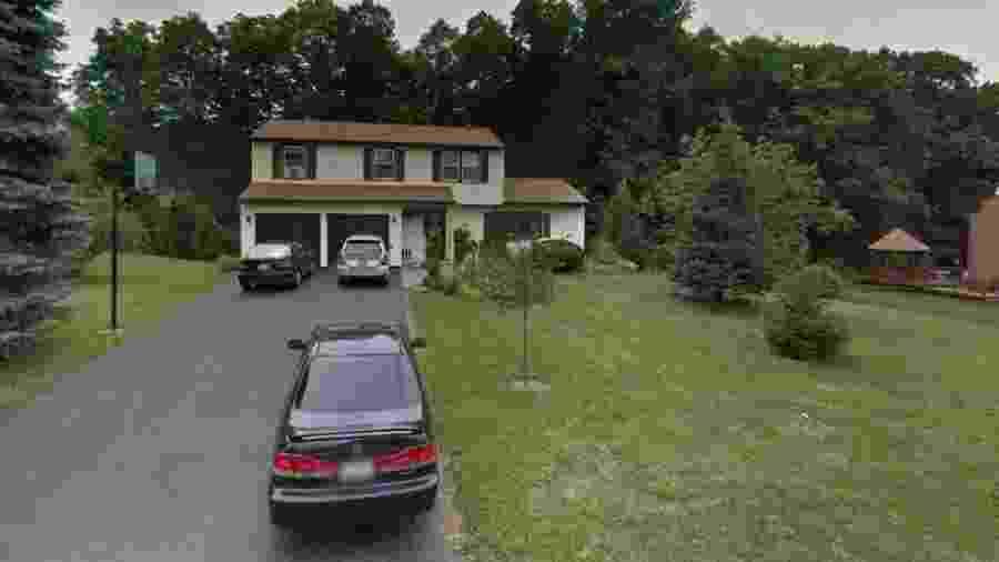 Casa dos Rotondo, no Condado de Onondaga - Reprodução/Google Maps