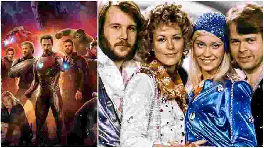 Marvel e ABBA - Reprodução