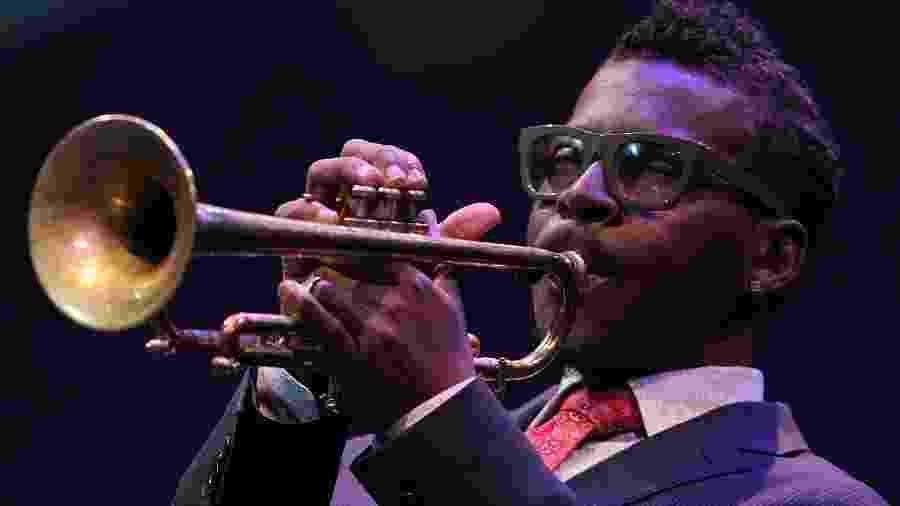 O trompetista Roy Hargrove em foto de 2013 - Paul Morigi/Getty Images