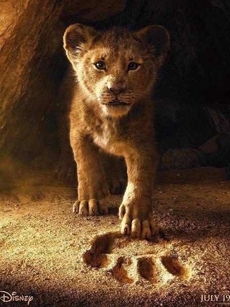 """Pôster do filme """"O Rei Leão"""" - Reprodução"""