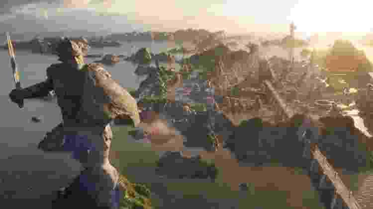 A civilização de Atlantis, antes de afundar - Reprodução/Screen Rant