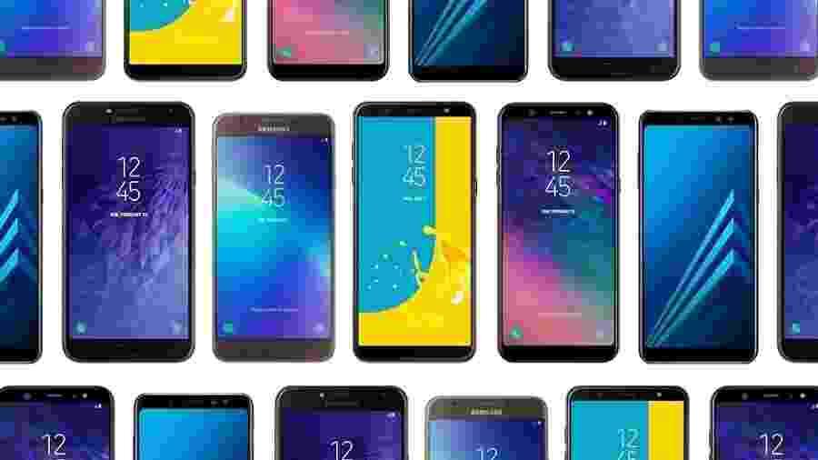 Samsung Galaxy A super o J por preço um pouco maior - Arte UOL