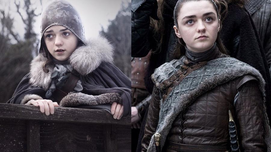 """Maisie Williams como Arya Stark em """"Game of Thrones"""" - Divulgação/IMDb"""