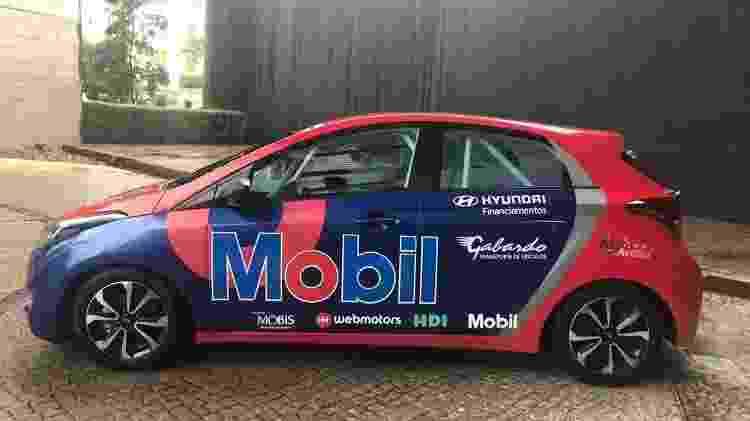 HB20 Motorsport é baseado na versão R spec com alterações pontuais - Alessandro Reis/UOL