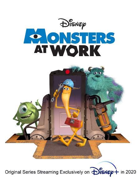 Primeira imagem oficial de Monsters at Work - Divulgação