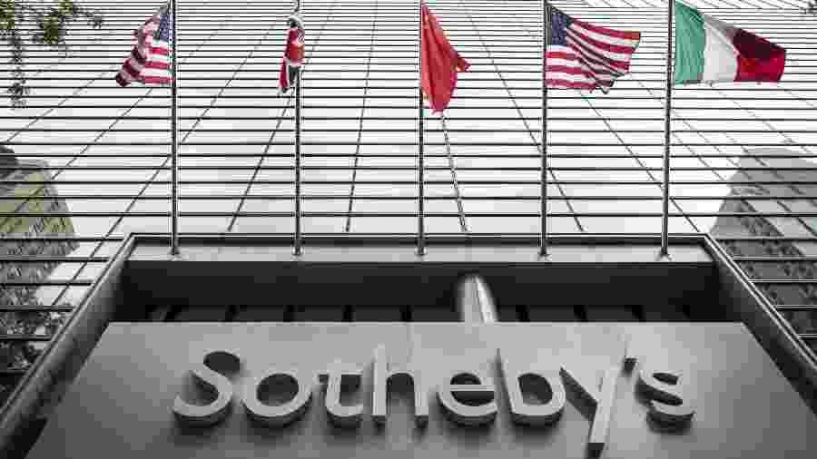 "Sede da Sotheby""s em Nova York - Drew Angerer/Getty Images"