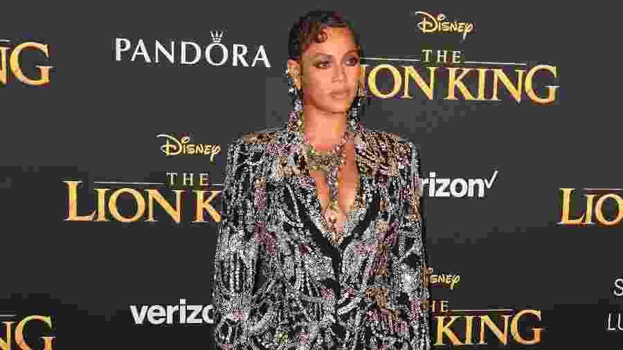 Beyonce na pré-estreia de O Rei Leão - REUTERS/Mario Anzuoni
