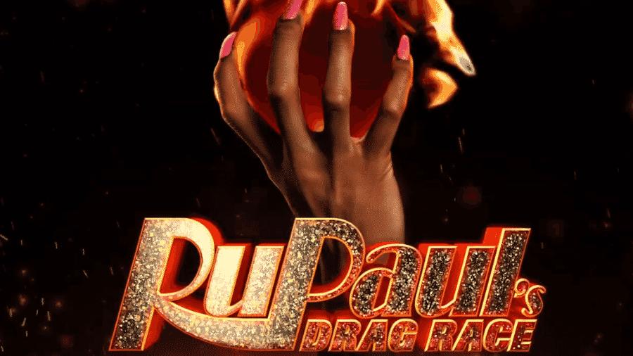 Logo da turnê RuPaul?s Drag Race Werq The World - Reprodução/YouTube