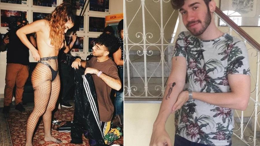 Fã faz tatuagem de Anitta em prova de figurino - Reprodução/ Instagram
